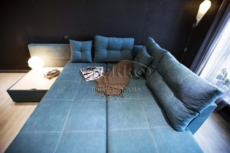 Кутовий диван з поворотним механізмом (Mercury) Меркурій ф-ка Мекко (Ортопедичний) - 3000*2150мм  Лозова-3