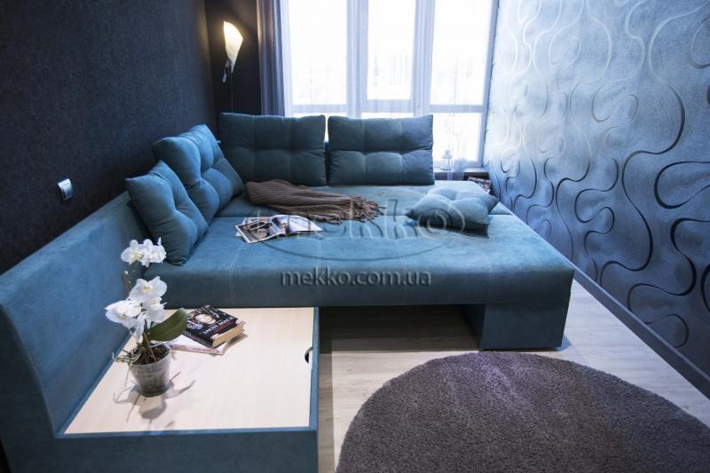 Кутовий диван з поворотним механізмом (Mercury) Меркурій ф-ка Мекко (Ортопедичний) - 3000*2150мм  Лозова-4