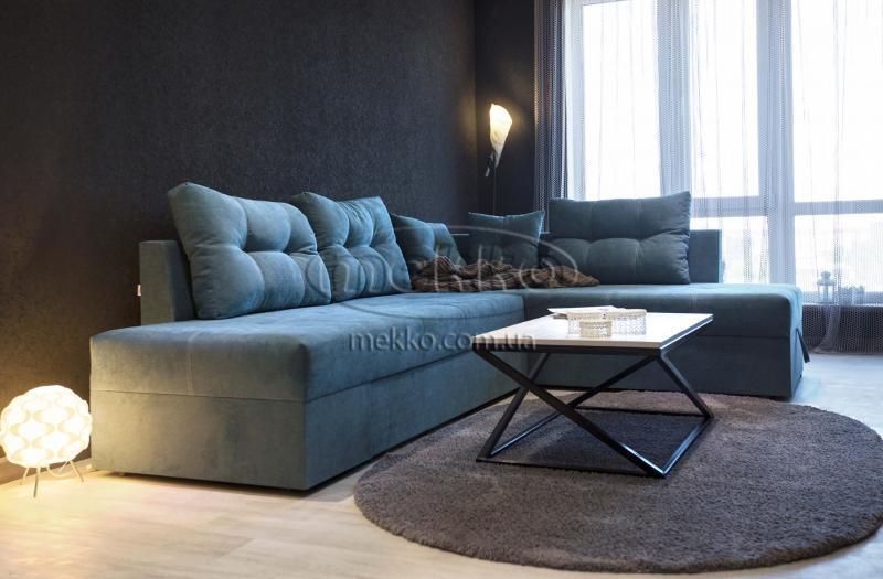 Кутовий диван з поворотним механізмом (Mercury) Меркурій ф-ка Мекко (Ортопедичний) - 3000*2150мм  Лозова