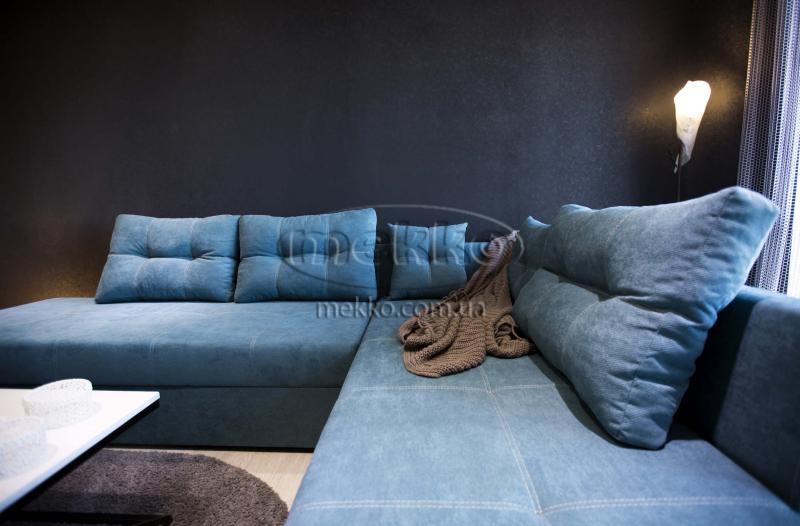 Кутовий диван з поворотним механізмом (Mercury) Меркурій ф-ка Мекко (Ортопедичний) - 3000*2150мм  Лозова-5