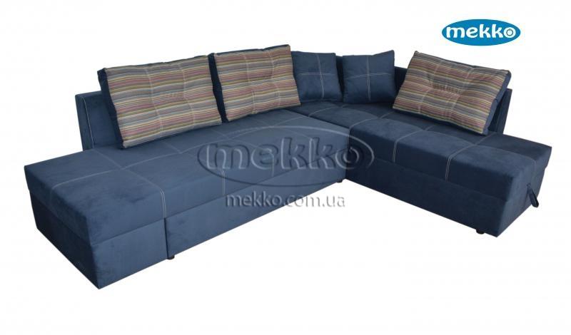 Кутовий диван з поворотним механізмом (Mercury) Меркурій ф-ка Мекко (Ортопедичний) - 3000*2150мм  Лозова-13