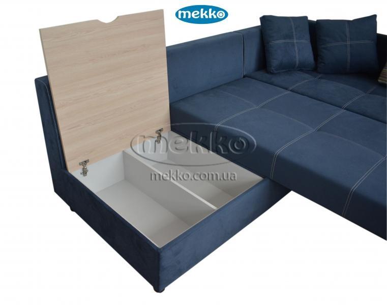 Кутовий диван з поворотним механізмом (Mercury) Меркурій ф-ка Мекко (Ортопедичний) - 3000*2150мм  Лозова-18