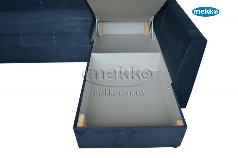Кутовий диван з поворотним механізмом (Mercury) Меркурій ф-ка Мекко (Ортопедичний) - 3000*2150мм  Лозова-20