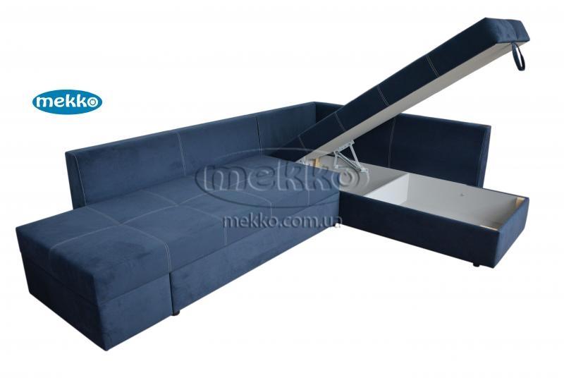 Кутовий диван з поворотним механізмом (Mercury) Меркурій ф-ка Мекко (Ортопедичний) - 3000*2150мм  Лозова-14