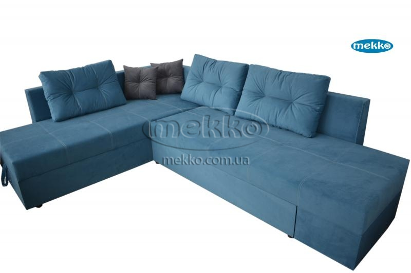 Кутовий диван з поворотним механізмом (Mercury) Меркурій ф-ка Мекко (Ортопедичний) - 3000*2150мм  Лозова-10
