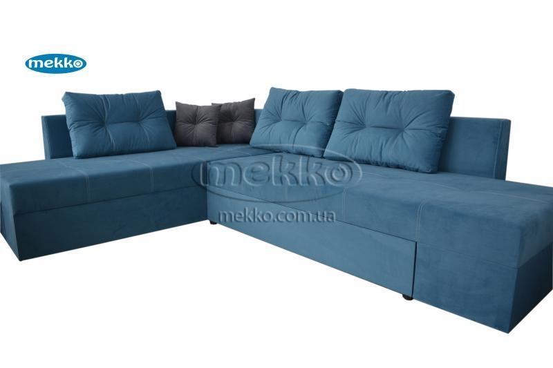 Кутовий диван з поворотним механізмом (Mercury) Меркурій ф-ка Мекко (Ортопедичний) - 3000*2150мм  Лозова-11