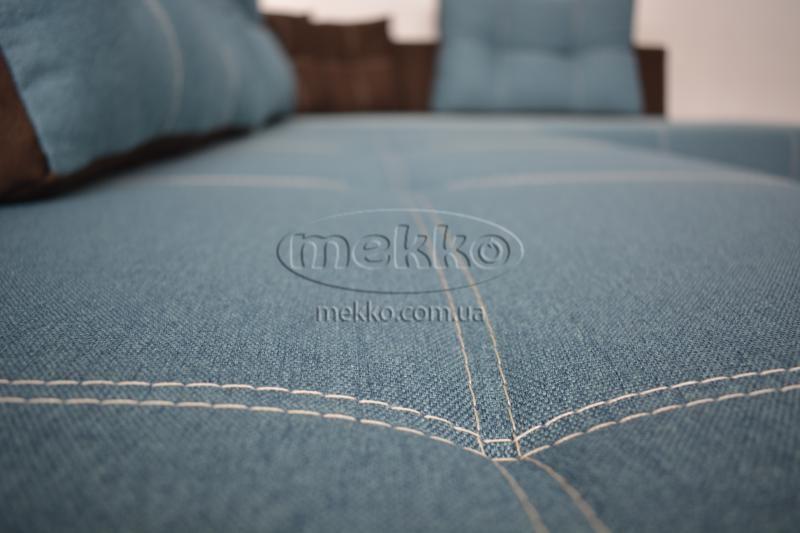 Кутовий диван з поворотним механізмом (Mercury) Меркурій ф-ка Мекко (Ортопедичний) - 3000*2150мм  Лозова-9