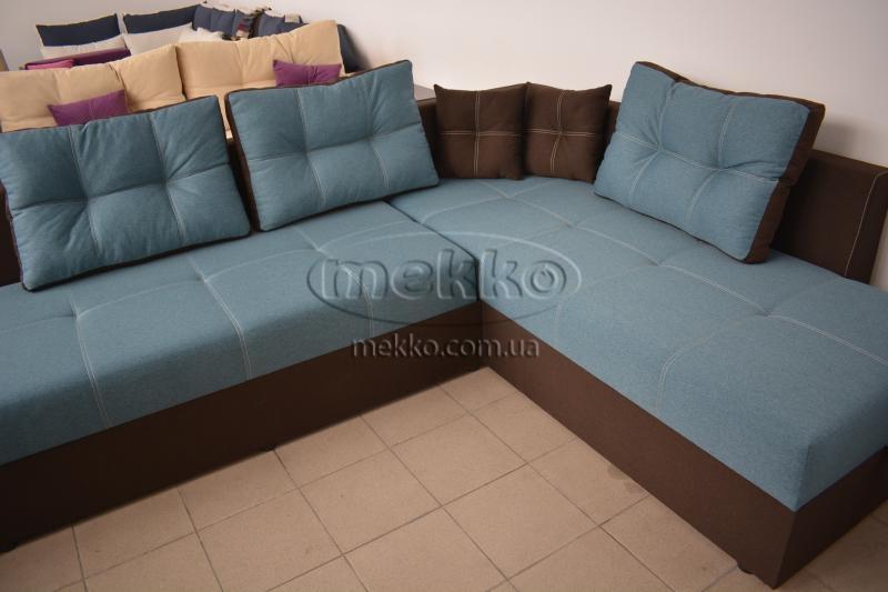 Кутовий диван з поворотним механізмом (Mercury) Меркурій ф-ка Мекко (Ортопедичний) - 3000*2150мм  Лозова-8