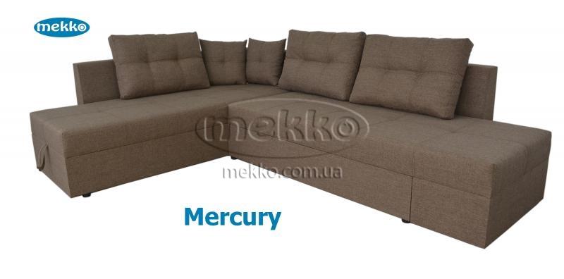 Кутовий диван з поворотним механізмом (Mercury) Меркурій ф-ка Мекко (Ортопедичний) - 3000*2150мм  Лозова-12